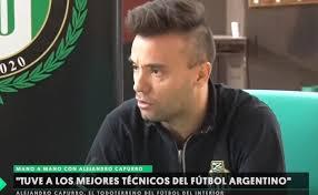 Alejandro Capurro, sanlorencino que jugó en todas las categorías del fútbol profesional.
