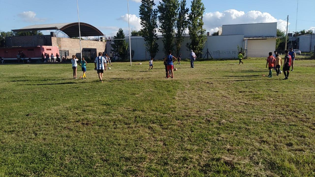 Predio de fútbol